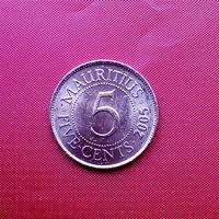 96-19 Маврикий, 5 центов 2005 г.