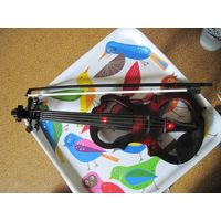 Скрипка со смычком. Музыкальная электронная игрушка.