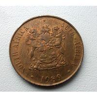 2 цента ЮАР 1989 года - из коллекции