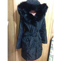 Фирменное зимнее пальто-куртка