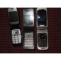 Nokia и Alcatel три стареньких раскладушки