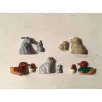 Киндер серия Животные с детенышами 3  1998г