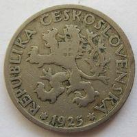 Чехословакия 1 крона 1925