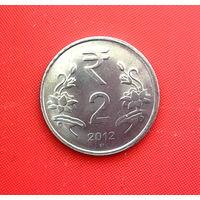 46-23 Индия, 2 рупии 2012 г. (Хайдарабад)