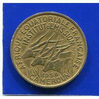Камерун 25 франков 1958