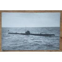 """Фото подводной лодки типа """"Морж"""" 1962 г. 9х14 см."""