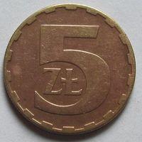 Польша, 5 злотых 1975 г