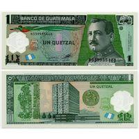 Гватемала. 1 кетцаль (образца 2012 года, P115c, UNC) [#33995544]