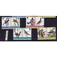 Птицы на марках Монтсерат  - полная серия 4,5 Евро