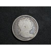 Великобритания 1/2 кроны 1817