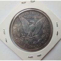 1 серебрянный доллар США 1891сс (копия)