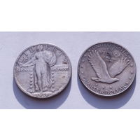 25 центов 1919