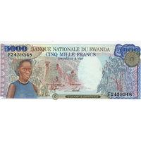 Руанда, 5 000 франков, 1998 г., UNC