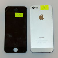 656 Apple iPhone 5S (A1457). По запчастям, разборка
