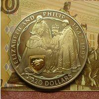 Новая Зеландия 20 долларов 1997 г пруф