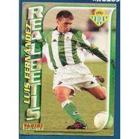 Карточка футбол Фернандес (Fernandez) Реал Бетис