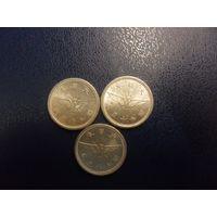 Япония 5 сен (период II Мировой войны)-цена за монету-в наличии ОДНА