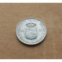 Бельгийское Конго, Руанда-Урунди, 1 франк 1958 г.. алюминий
