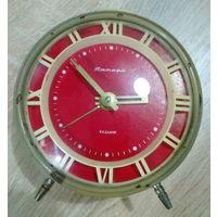 Часы-будильник ЯНТАРЬ (4 камня)
