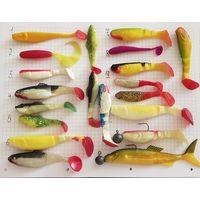 Для рыбалки силиконовые рыбки