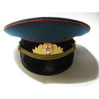 Фуражка парадная офицера ВС СССР. 56 размер. 43 ЦОПК. г. Москва