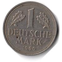 Германия. 1 марка. 1990 G