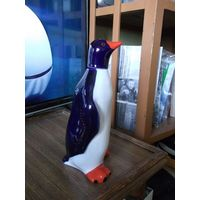 Статуэтка, графин, штоф: Пингвин, ЛФЗ, 22,5 см.