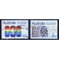Австралия 1982 Mi# 793-794 (AU018) гаш.