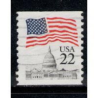 Марка США Флаг USA 22