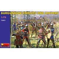 Бургундские рыцари и лучники XV в. Mini Art 1/72