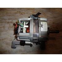 Двигатель от стиральной машины (электролюкс) Италия, (рабочий)