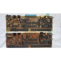 Платы с радиодеталями от компьютера БАЙТ.