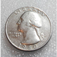25 центов 1980 (P) США #01