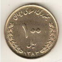 Иран 100 риал 2004