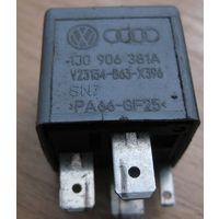100472 AUDI VW SEAT SKODA Реле 109 1J0906381A