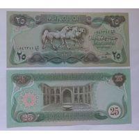 Ирак 25 динаров 1982 года UNC
