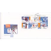 Конверт первого дня (КПД) XXI зимние игры Олимпиады в Ванкувере. 25.01.2010
