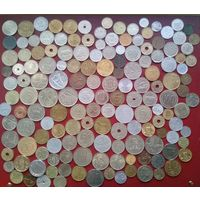 Распродажа с 1 рубля !!! - Монеты Европы - 152 шт. - без повторов