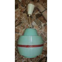 Светильник, лампа потолочная СССР