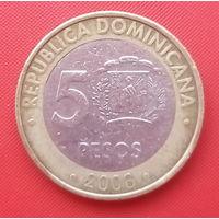 65-31 Доминиканская Республика, 5 песо 2008 г.
