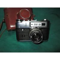 Фотоаппарат ФЭД 5-В с Олимпийской символикой Олимпиада-80.