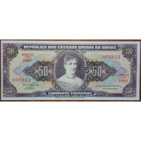 Бразилия, 50 крузейро 1966 год, Р184