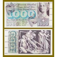 [КОПИЯ] Швейцария 1000 франков 1963г.