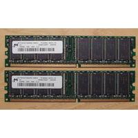 Память PC3200 256MB 8шт