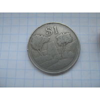 Зимбабве 1 доллар 1980г. km 6