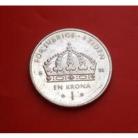 32-25 Швеция, 1 крона 2008 г.