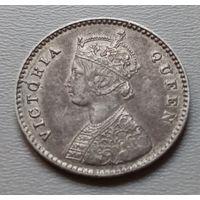 Индия 2 анны 1862 г.