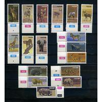 Намибия 1980г. дикие животные. 17м.