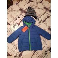 Куртка новая Liegelind NKD на рост 74 см