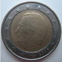 Бельгия 2 евро 2006 г.